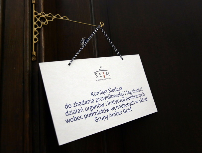 Posiedzenie sejmowej Komisji śledczej ds. Amber Gold /Tomasz Gzell /PAP