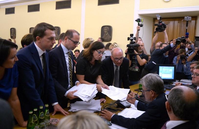 Posiedzenie sejmowej komisji sprawiedliwości /Marcin Obara /PAP
