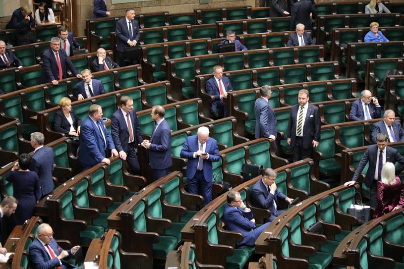 Posiedzenie Sejmu 12 listopada br., zdj. ilustracyjne /Piotr Molecki/East News /East News