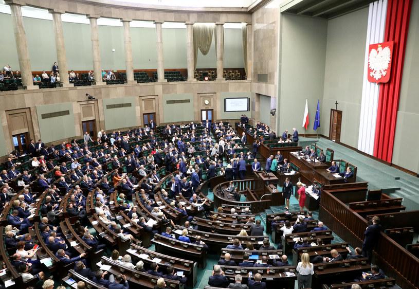 Posiedzenie Sejmu. Fot. Piotr Molęcki /Agencja SE/East News