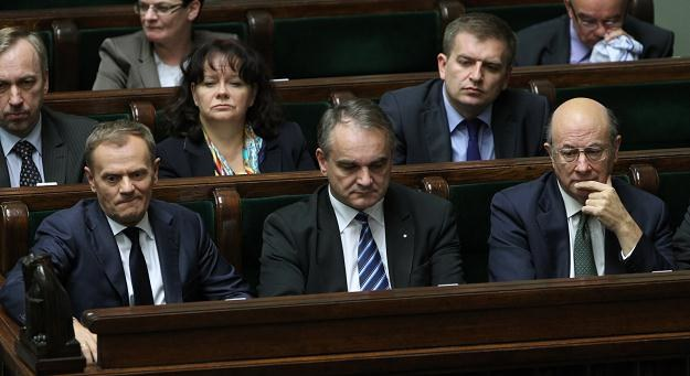 Posiedzenie Sejmu, fot. Radek Pietruszka /PAP