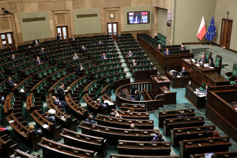 Posiedzenie Sejmu w czasie epidemii koronawirusa /Jakub Kamiński   /East News