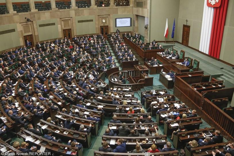 Posiedzenie Sejmu, zdj. ilustracyjne /Darek Nowak/REPORTER /Reporter