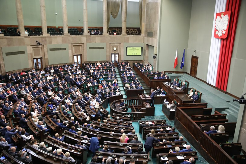 Posiedzenie Sejmu, zdj. ilustracyjne /fot. Andrzej Iwanczuk /Reporter