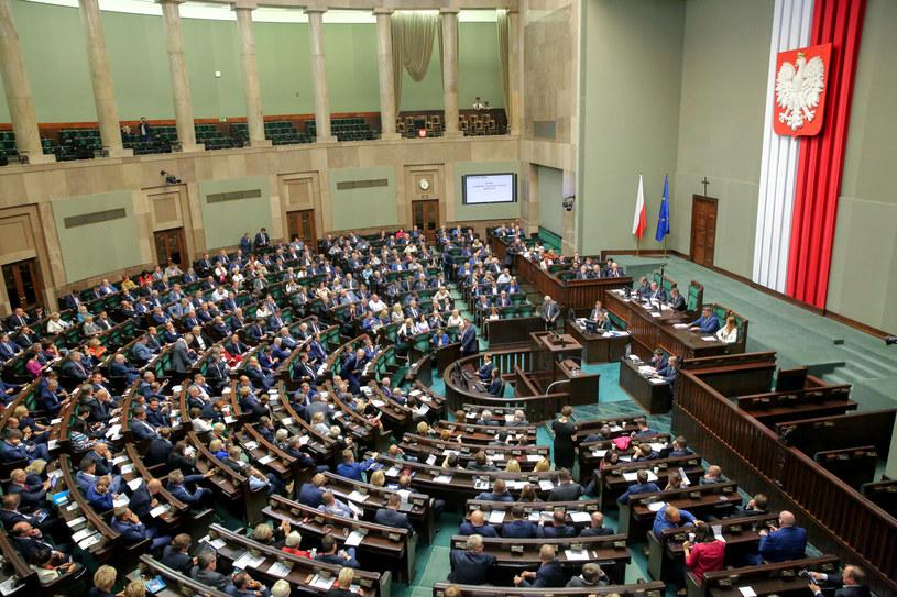 Posiedzenie Sejmu, zdjęcie ilustracyjne /Piotr Molecki /East News