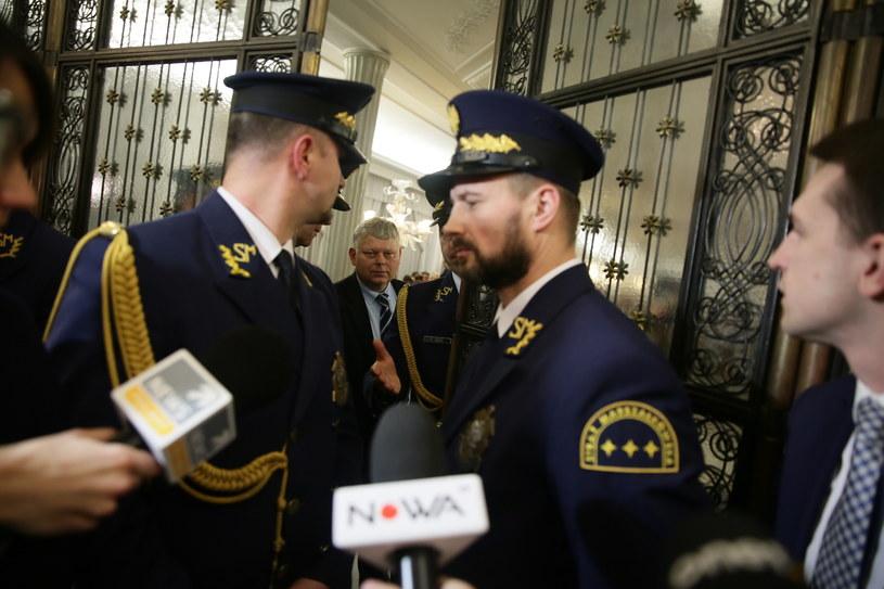 Posiedzenie Sejmu zostało przeniesione do Sali Kolumnowej /Tomasz Gzell /PAP
