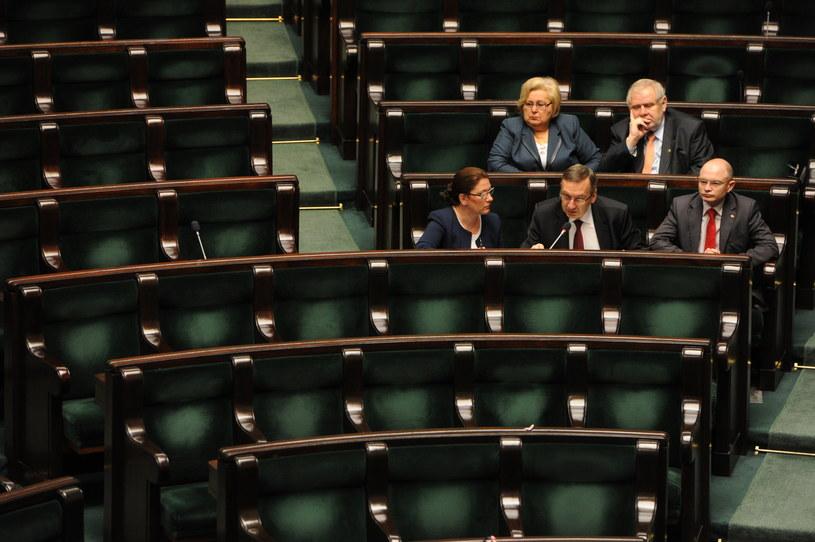 Posiedzenie Sejmu /Grzegorz Jakubowski /PAP