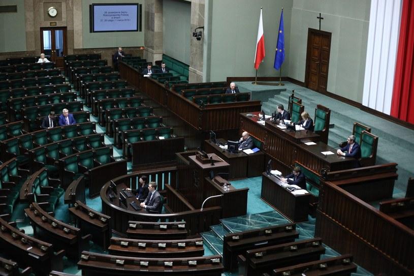 Posiedzenie Sejmu / Leszek Szymański    /PAP