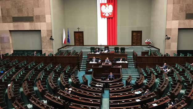 Posiedzenie Sejmu /Mariusz PIekarski /RMF FM