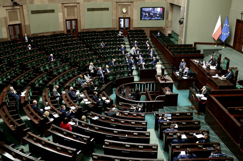 Posiedzenie Sejmu /Piotr Molecki /East News