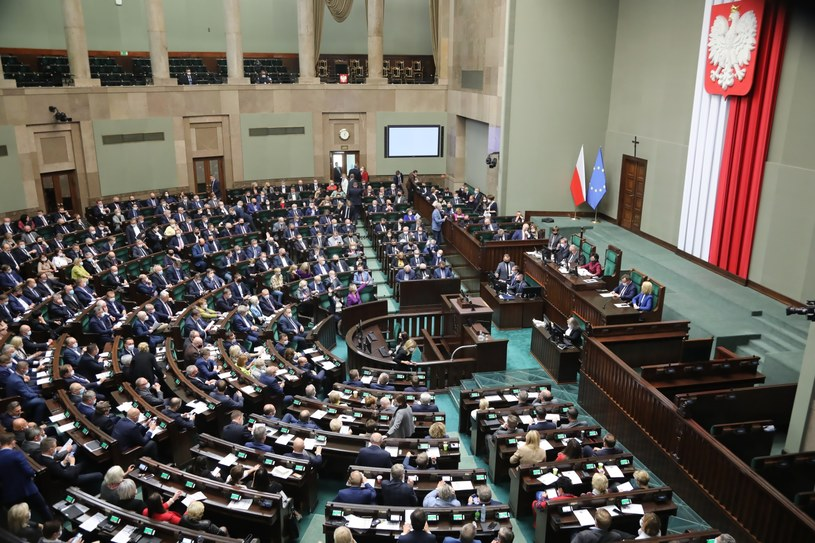 Posiedzenie Sejmu /Wojciech Olkuśnik /PAP