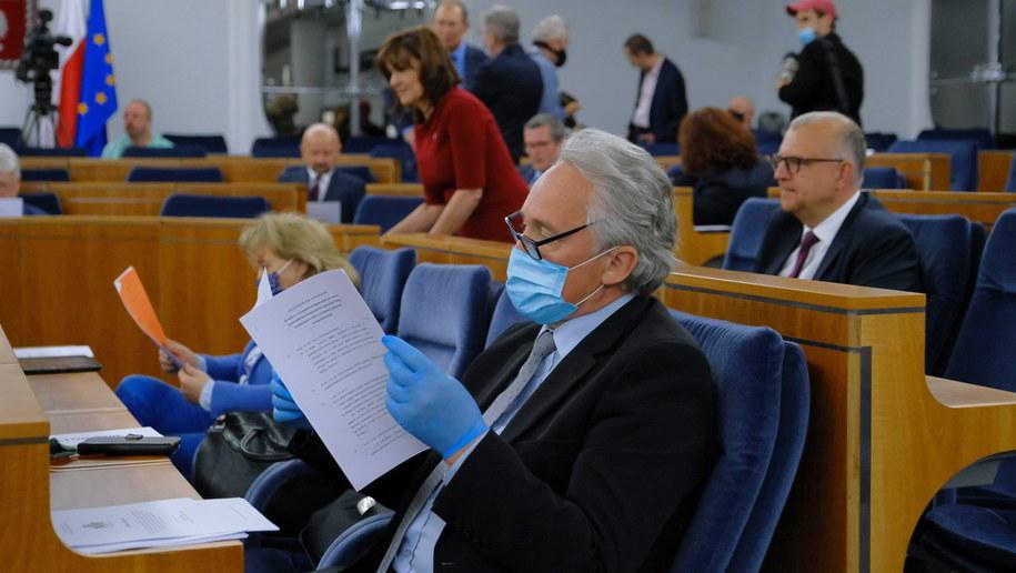Posiedzenie senackich komisji /Mateusz Marek /PAP