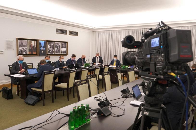 Posiedzenie senackiej komisji zdrowia /Mateusz Marek /PAP