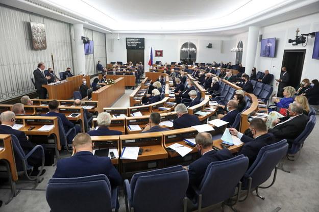 Posiedzenie Senatu RP w Warszawie /Tomasz Gzell /PAP