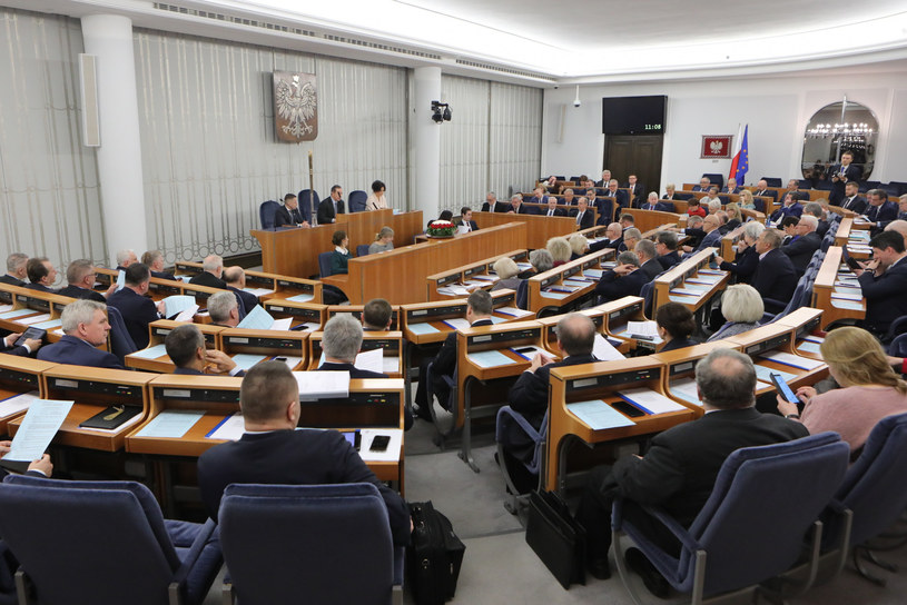 Posiedzenie Senatu, zdj. ilustracyjne /Tomasz Jastrzebowski/REPORTER /East News