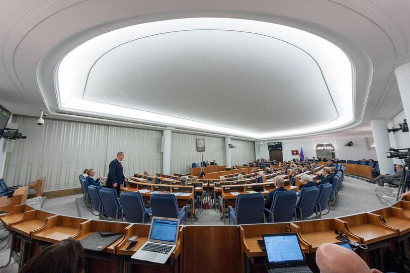 Posiedzenie Senatu; zdj. ilustracyjne /Rafal Niewiadomski /Reporter