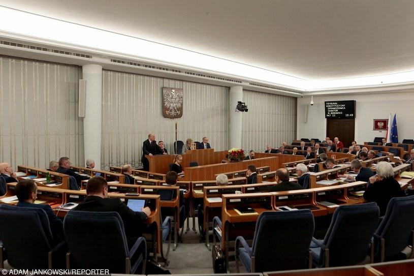 Posiedzenie Senatu (zdjęcie ilustracyjne) /Adam Jankowski /East News