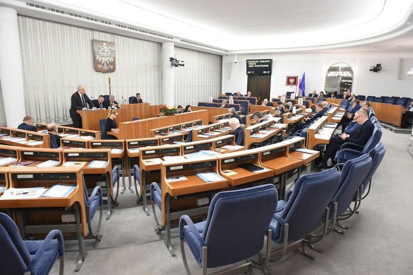 Posiedzenie Senatu, zdjęcie ilustracyjne /Rafal Oleksiewicz /Reporter