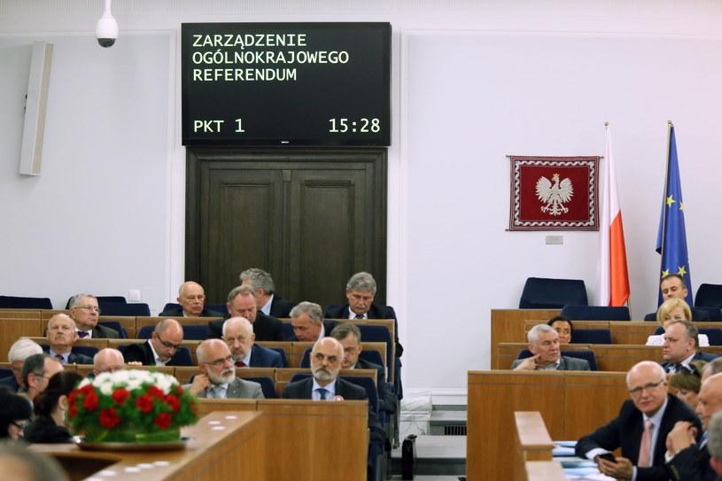 Posiedzenie Senatu /Tomasz Gzell /PAP