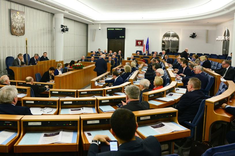 Posiedzenie Senatu /Jakub Kamiński   /PAP