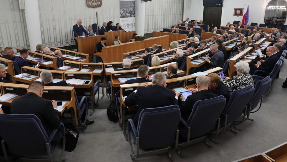 Posiedzenie Senatu / Tomasz Gzell    /PAP