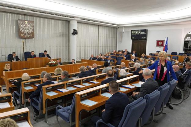 Posiedzenie Senatu /Mateusz Marek /PAP