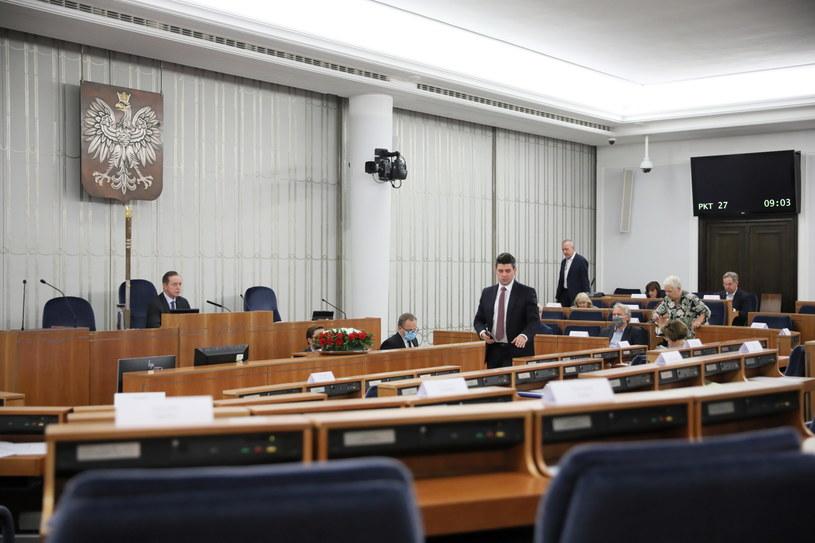 Posiedzenie Senatu / Leszek Szymański    /PAP