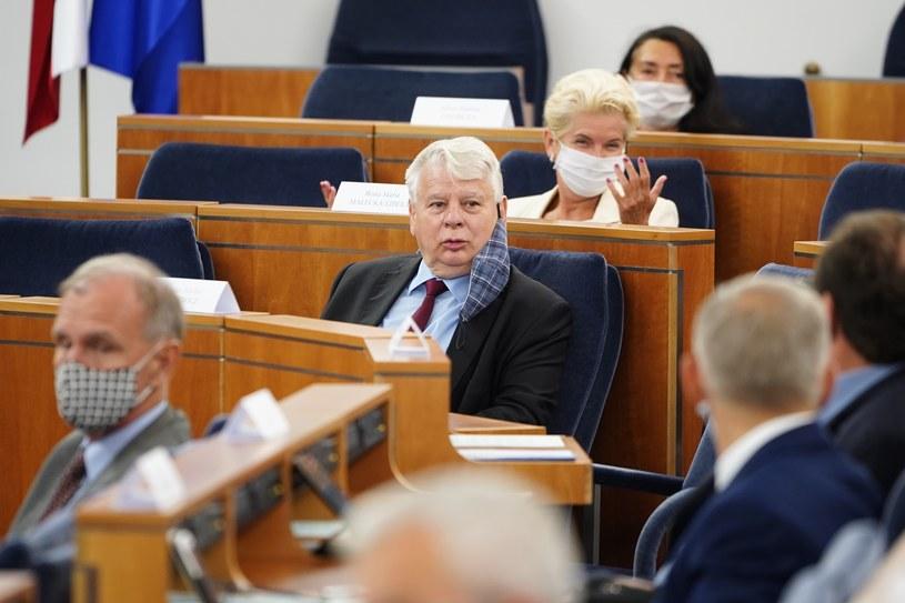Posiedzenie Senatu /Mateusz Włodarczyk /Agencja FORUM