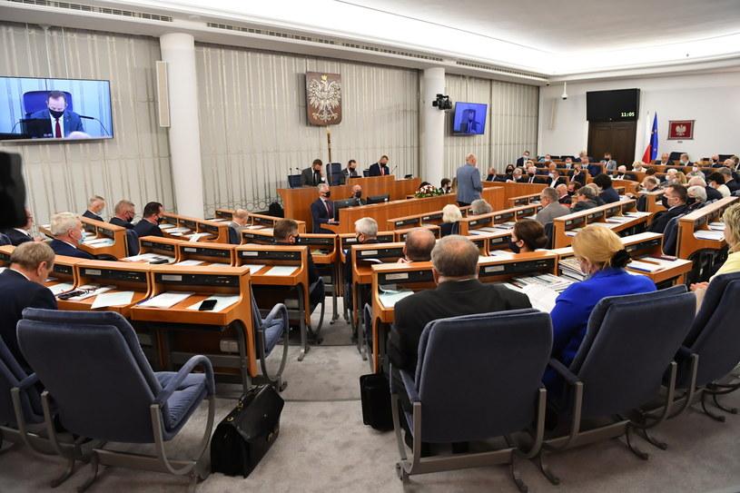 Posiedzenie Senatu /Piotr Nowak /PAP