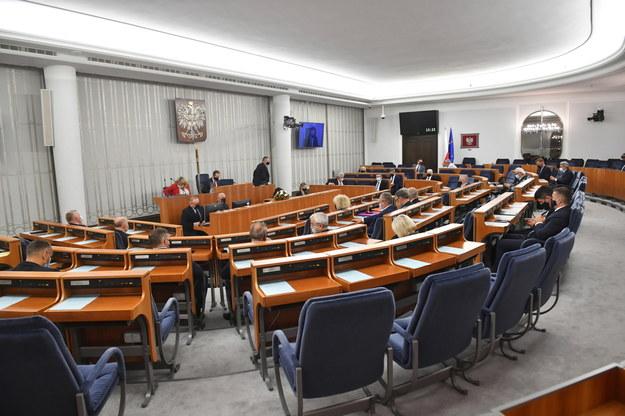 Posiedzenie Senatu /Radek Pietruszka /PAP