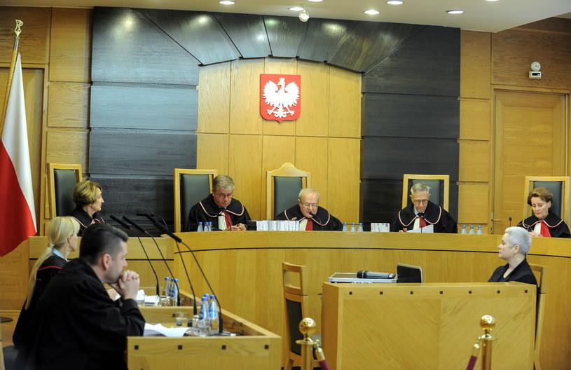 Posiedzenie TK /Marcin Obara /PAP