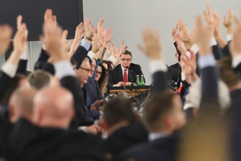 Posiedzenie w Sali Kolumnowej /Adam Zwart/REPORTER /East News