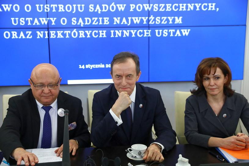 Posiedzenie zespołu obrony praworządności /Rafał Guz /PAP