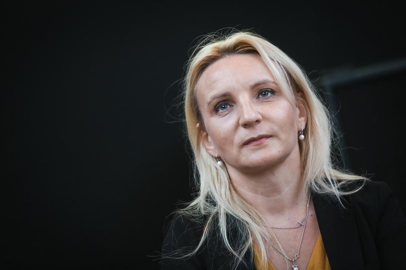 Posłanka Agnieszka Ścigaj /Beata Zawrzel /Reporter