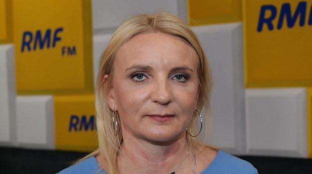 Posłanka Agnieszka Ścigaj /Jakub Rutka /RMF FM
