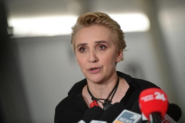 Posłanka  Joanna Scheuring-Wielgus, / Marcin Obara  /PAP