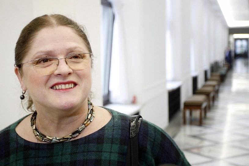 Posłanka Krystyna Pawłowicz /Adam Guz /Reporter