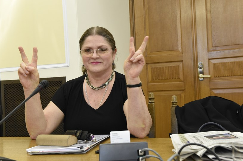 Posłanka Krystyna Pawłowicz /Jacek Domiński /Reporter