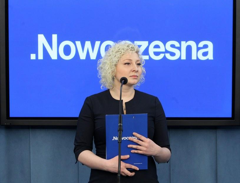Posłanka Marta Golbik z Nowoczesnej /Stanisław Kowalczuk /East News