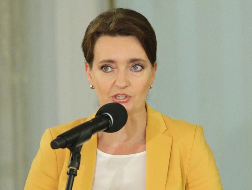 Posłanka Marzena Okła-Drewnowicz z KO /Tomasz Jastrzębowski /Reporter