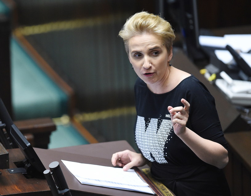 Posłanka Nowoczesnej Joanna Scheuring-Wielgus /Radek Pietruszka /PAP