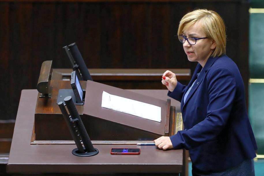 Posłanka Nowoczesnej Paulina Hennig-Kloska /Rafał Guz /PAP