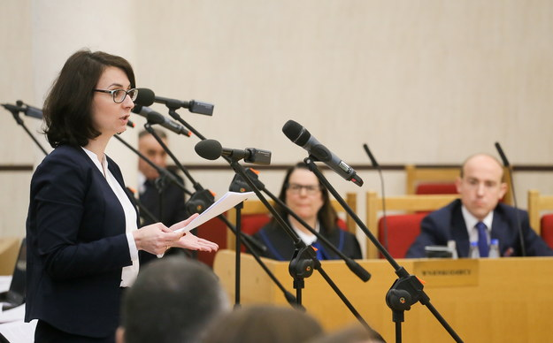 Posłanka Nowoczesnej, rzecznik partii Kamila Gasiuk-Pihowicz /Paweł Supernak /PAP