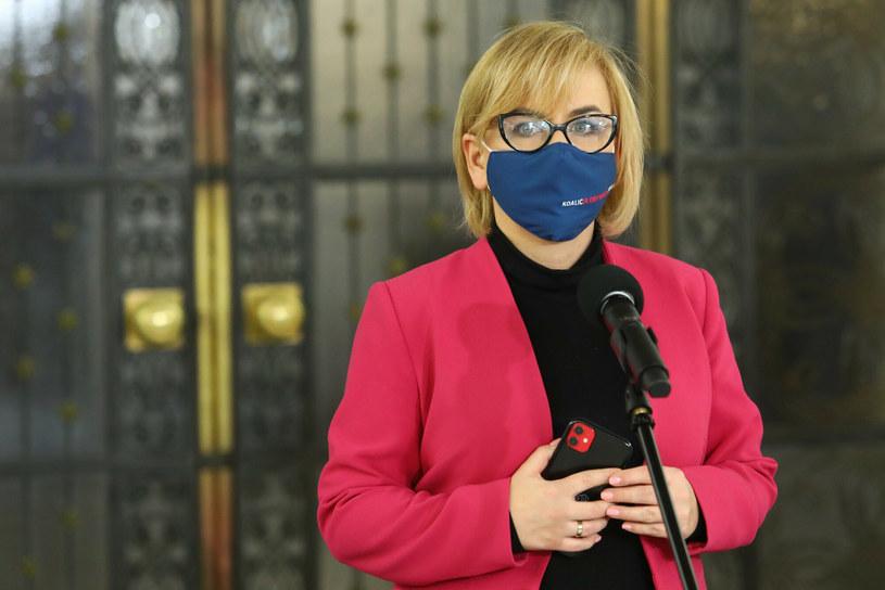 Posłanka Paulina Hennig-Kloska /Tomasz Jastrzębowski /Reporter