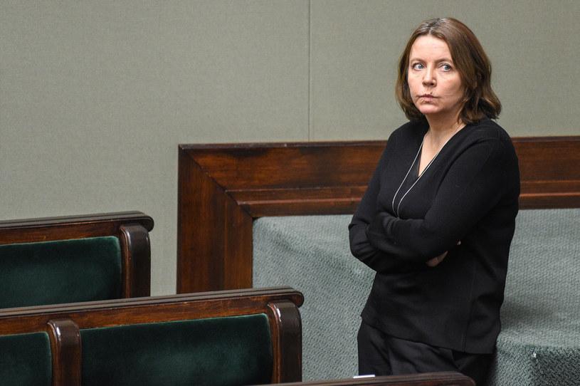 Posłanka PiS Joanna Lichocka /Jacek Dominski/ /Reporter