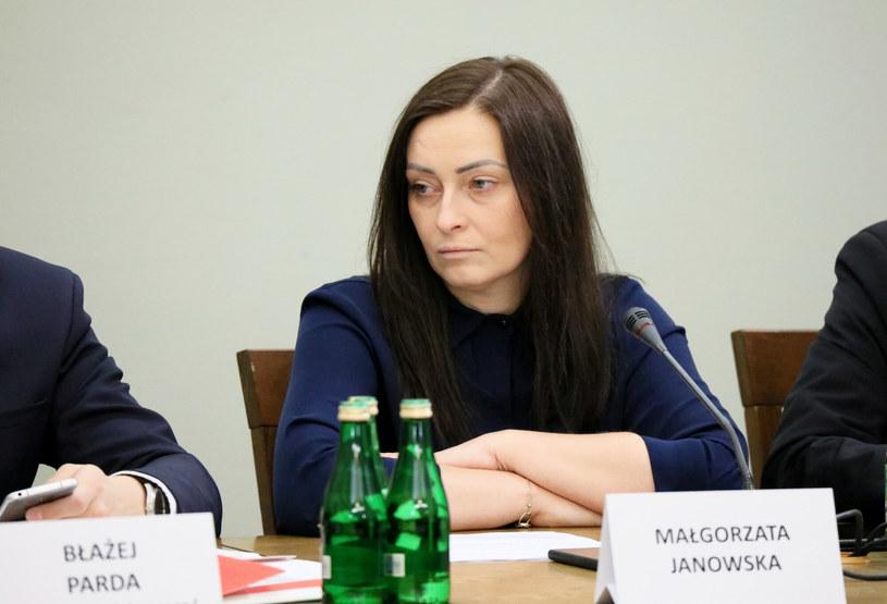 Posłanka PiS Małgorzata Janowska /Piotr Molecki /East News