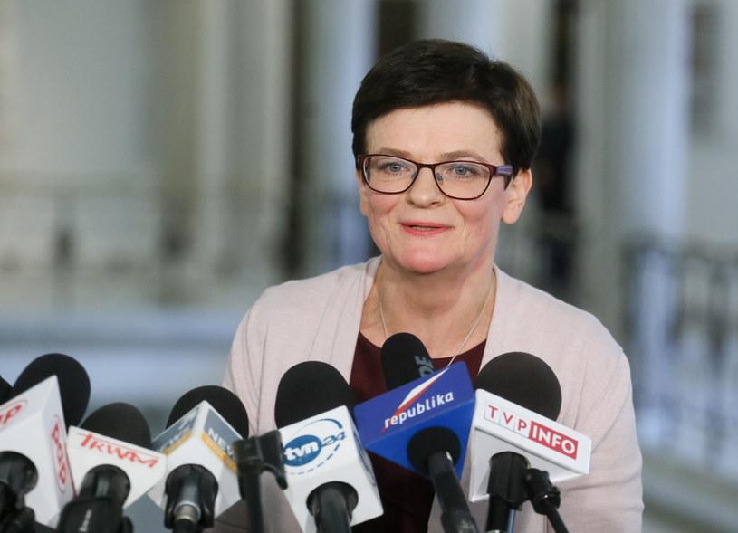 Posłanka PO, była minister edukacji narodowej Krystyna Szumilas /Paweł Supernak /PAP