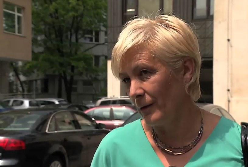 Posłanka PO Ewa Drozd /TVN24/x-news