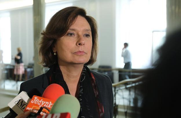 Posłanka PO Małgorzata Kidawa-Błońska /PAP