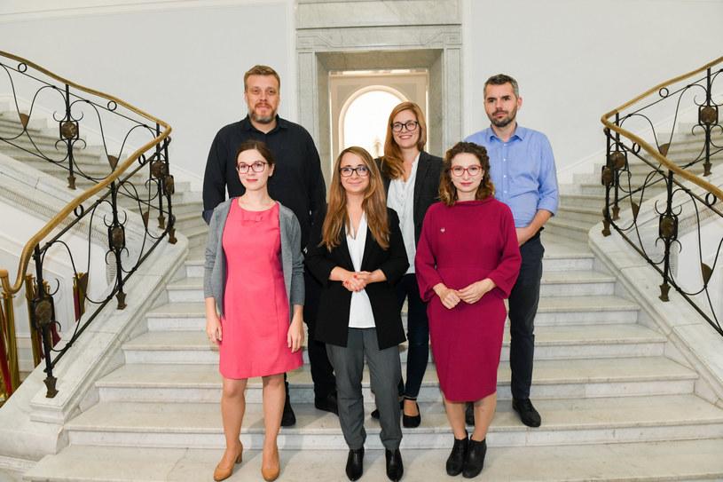 Posłanki i posłowie Lewicy Razem /Jacek Domiński /Reporter